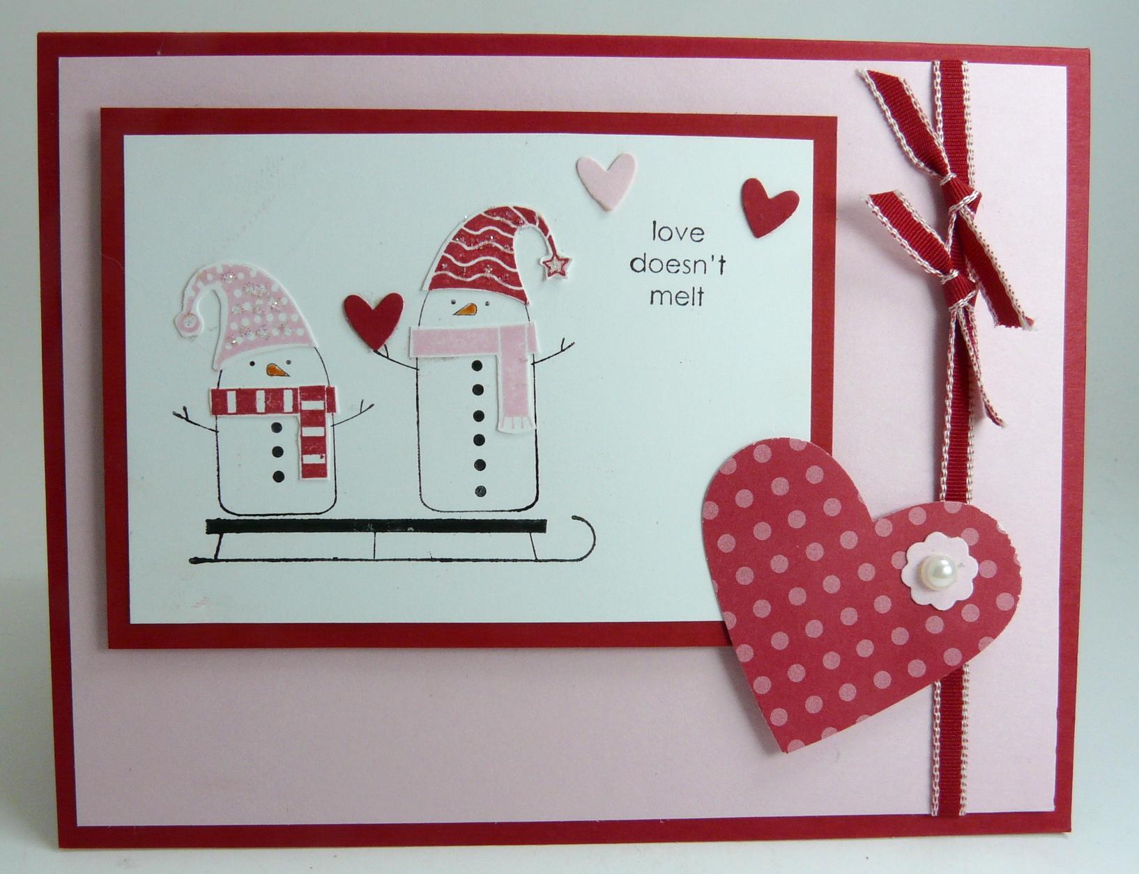 Valentine  I Stamped That