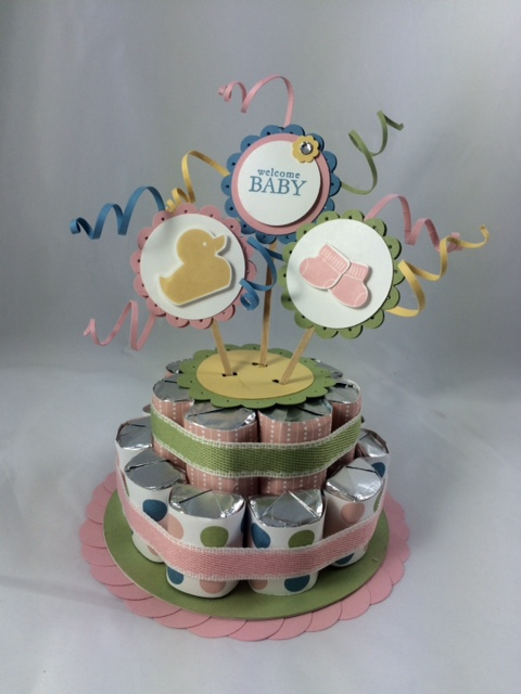baby nuggeg cake